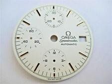 Original Zifferblatt Dial für Omega Speedmaster Chronograph 175.0043 weiss