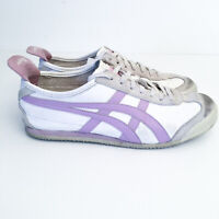 Asics Onitsuka Tiger Mexico 66 Classic White Purple HL474 Womens Size US 9 40.5