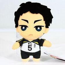 Volleyball Keiji Akaashi Short Cosplay Wig E062 High Quality Anime Haikyuu!