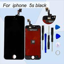 In Replacement iPhone 5S New Black Touch Digitizer+ LCD Screen Assembly