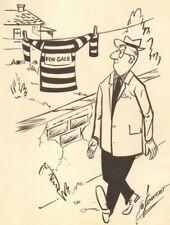 Prisoner Uniform For Sale Gag - 1959 art by Lo Linkert