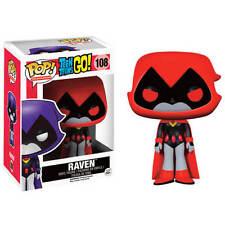 Funko Pop-DC Comics Teen Titans Go Figura de Vinilo Rojo-Raven