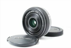 Used H-H014 Panasonic LUMIX G 14mm F2.5 ASPH Operation confirmed Lens from Japan