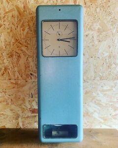 Large Vintage Industrial Factory Clock