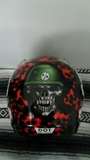 Metal Mulisha Shoei VFX-W sz M Black Red TC-5 Motocross Helmet Moto X Deegan