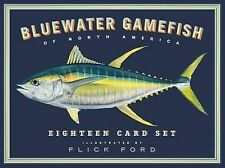 Bluewater Gamefish of North America Eighteen Card Set - Good Book Flick Ford