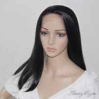 Handsewn Synthetic FULL LACE FRONT Queen Wigs 9170#1B