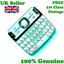 100% Genuine Nokia Asha 302 keyboard QWERTY keypad keys white buttons