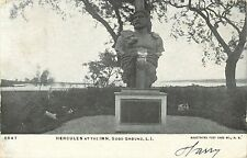 Statue of Hercules At the Inn, Good Ground, Hampton Bays L.I. New York NY 1907