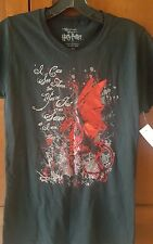 The Wizarding World of Harry Potter Women's Medium Black T-Shirt- New with Tags