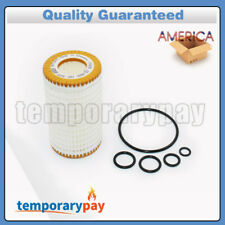 OEM New Oil Filter Kit HU718/5x 0001802609 with O rings Fit For Mercedes-Benz