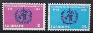 SURINAME 1965 International Co-operation Year. Set of 2. MNH. SG549/550.