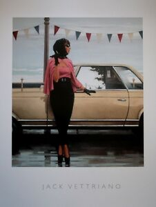Jack Vettriano - Suddenly One Summer - premium open edition print (40x50)