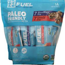 ProBar ORGANIC Protein Blueberry / Cherry Vegan 14 Bars 1.8 oz ea Paleo Friendly