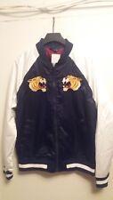 Men's H&M JAPAN TIGER navy blue & white varsity jacket BNWT size MEDIUM & LARGE