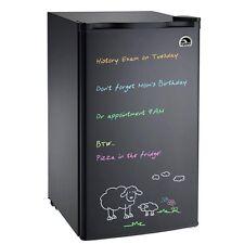 3.2 cu ft Igloo Eraser Board Mini Fridge Refrigerator, Black- FR326- Refurbished