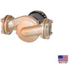 INLINE CIRCULATOR PUMP - Cast Bronze - 3/4 Hp - 230/460V - 3 Phase - 6,900 GPH