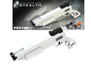 Petron Sports Stealth Toy Pistol - Includes 12 Darts - Black / White - Ages 14+