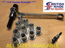M10 - Heavy Duty High Tensile (12.9)  Rivnut Rivet Nut Setting Nutsert Tool Kit