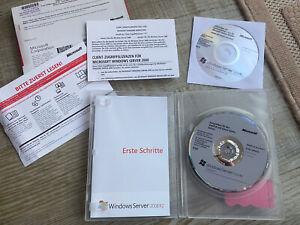 Microsoft Windows Server 2008 R2 Standard 64Bit + 5CAL 1-4CPU DVD