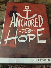 ANCHORED TO HOPE BY JOEL OSTEEN DVD/CD SERIES NEW & FACTORY SEALED