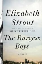 The Burgess Boys by Elizabeth Strout 2013 Hardcover Action Novel Fiction Brother