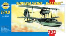 Supermarine Walrus Mk I, British Flying Boat (1/48 model kit, Smer 0815)