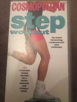 COSMOPOLITAN STEP WORKOUT VHS VIDEO - 1993