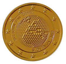2 Euro Vergoldet In Münzen Aus Slowenien Nach Euro Einführung