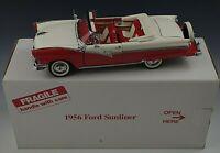 DANBURY MINT 1956 FORD FAIRLANE SUNLINER DIE CAST CAR 1/24 SCALE MIB