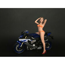 HOT BIKE MODEL CINDY FIGURINE FOR 1/12 SCALE MOTORCYCLES AMERICAN DIORAMA 38373