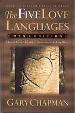 THE FIVE LOVE LANGUAGES - MEN'S EDITION  -  GARY CHAPMAN  - PAPERBACK -  2004