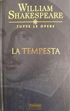 WILLIAM SHAKESPEARE - LA TEMPESTA - Testo a fronte Fabbri Editore 2003