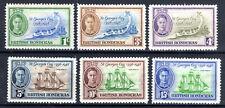 British Honduras   set  SG166-71 KGVI  1949 MH [B2011]