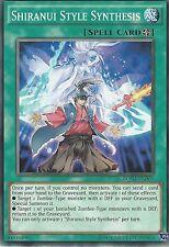 YU-GI-OH CARD: SHIRANUI STYLE SYNTHESIS - BOSH-EN065