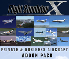Flight Simulator X FSX AddOn Bundle-Privat & Business Jet Flugzeug - 15+ NEU!