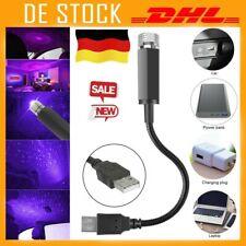 DC 5V USB LED Auto Atmosphäre Sternlicht Sternenhimmel Projektor Laserlampe DE