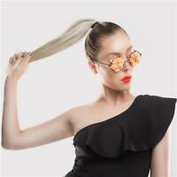 Thick  Clip in  Ribbon Ponytail Hair Extensions  100% Remy Human Hair Extensions