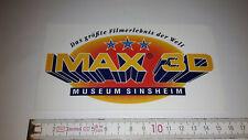 Edad pegatinas museo Sinsheim IMAX 3d