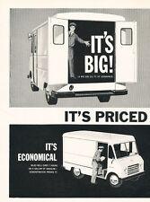1959 International Metro-Mite Cargo Van- Vintage Advertisement Car Print Ad J472