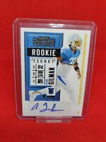 2020 Panini NFL Contenders Alohi Gilman Auto Rookie Ticket LA Chargers