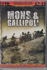 Mons 1914 & Gallapoli 1915. Eagle Rock Entertainment. 2002 DVD jz2.57