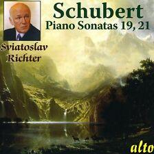 Sviatoslav Richter, - Piano Sonatas D 958 & D 960 [New CD]