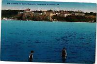 CPA   Cannes - Ile Sainte Marguerite - Vue prise de la Croisette     (203704)