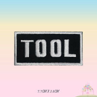 Tool Music Band Embroidered Iron On Sew On Patch Badge For Clothes etc