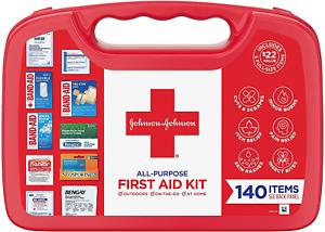 First Aid Kit Minor Cuts Scrapes Sprains Burns Home Outdoor Emergencies 140 Pcs