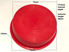 LARGE PROTECTIVE DUST CAP RED NYLON  MILITARY SPECIFICATION               ac1~20