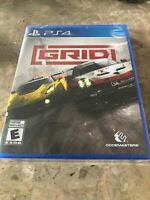 Codemasters Grid Standard Edition For PlayStation 4 (PS4) - FACTORY SEALED - NEW