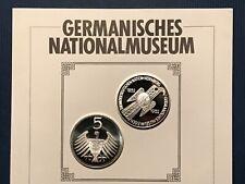 5 DM Germanisches Nationalmuseum 1952 / NP 1 / bankfrisch