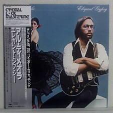 JAPAN PRESS LP OBI AL DIMEOLA ELEGANT GYPSY CRYSTAL LOCK MASTERING w/Sheet